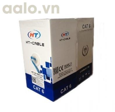 Dây mạng CAT6 HT-Cable 0686 cuộn dài 305M xanh ( chính hãng )