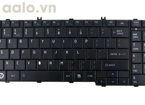 Bàn phím laptop TOSHIBA P200 P205, P300, L500,A500 - Keyboard TOSHIBA