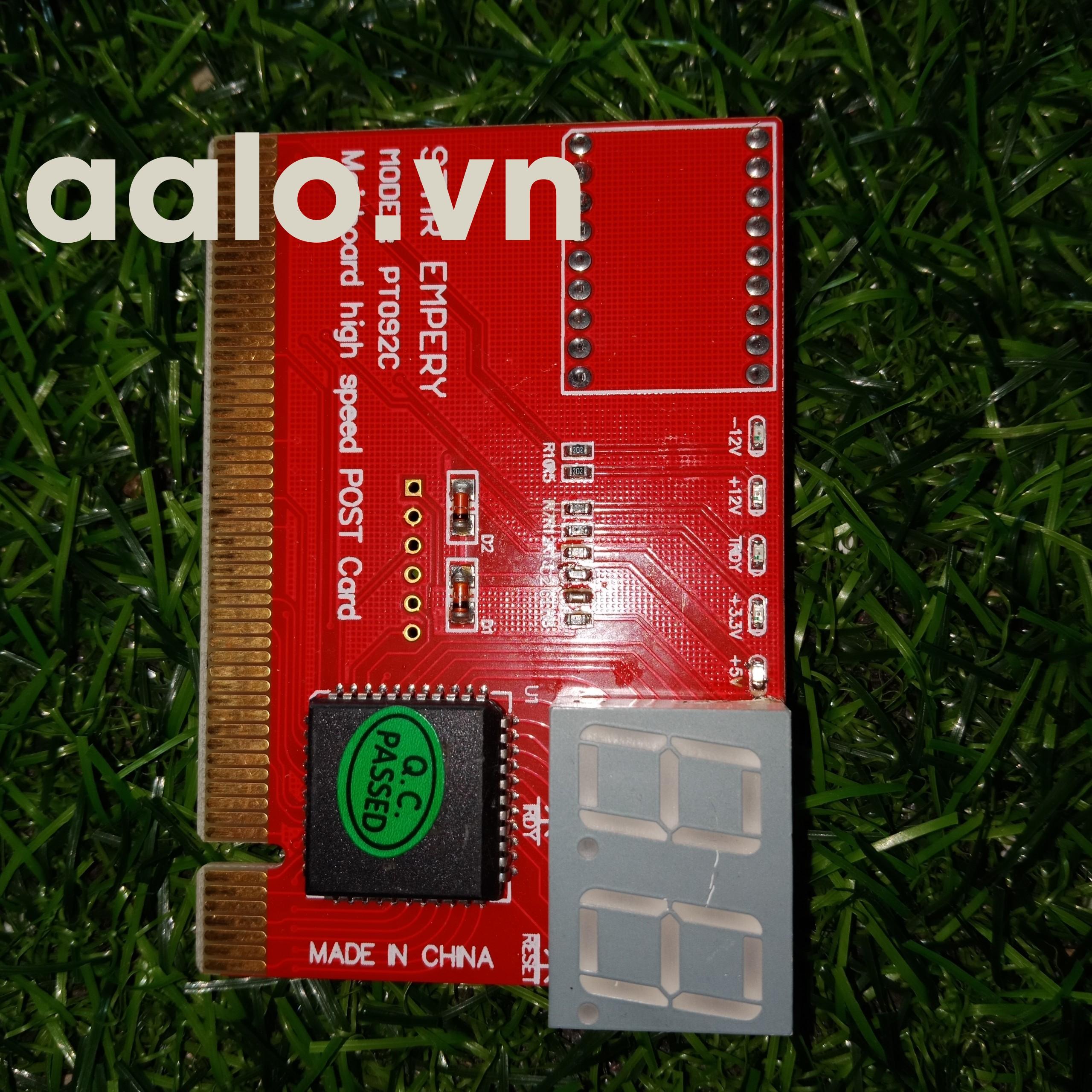 Card test main pt092  hỗ tợ test socket 775 – 945 – g31 – g41