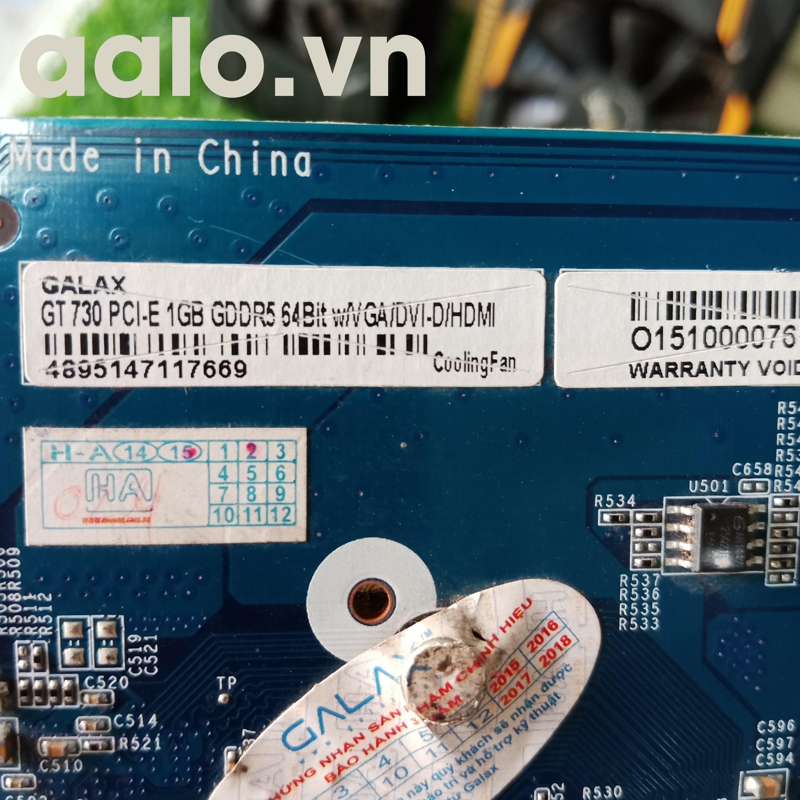 Card hình GALAX GT730-1G