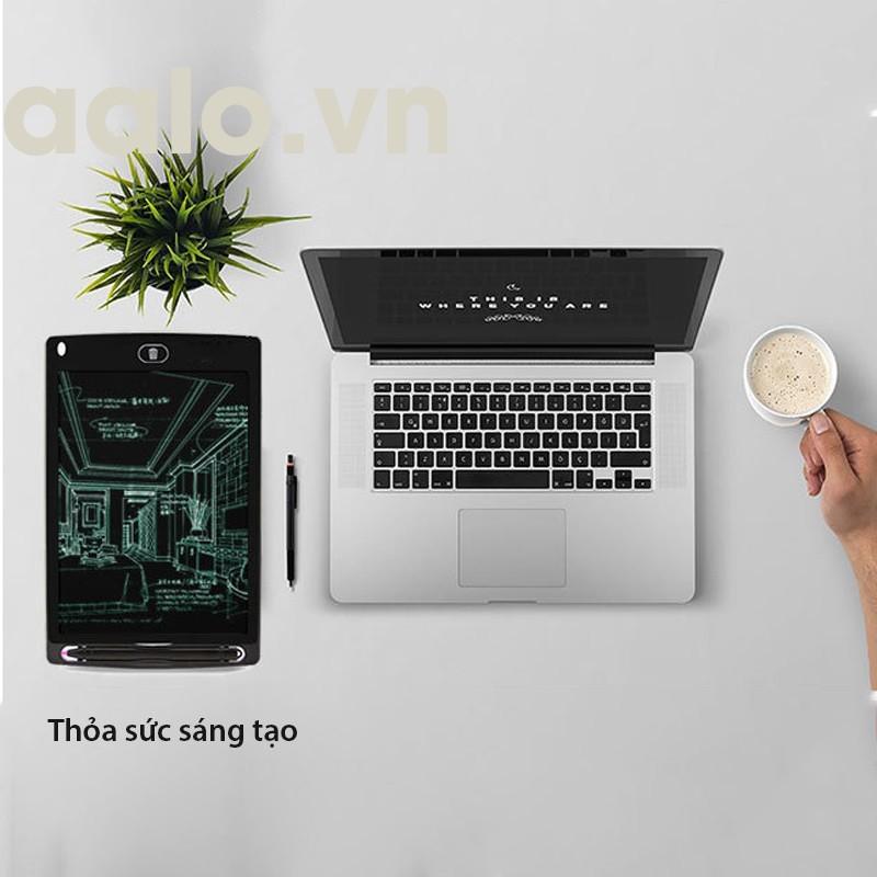 Bảng Viết Thông Minh - Bảng Vẽ Điện Tử Bé Sử Dụng AN TOÀN - SẠCH SẼ - Không BỤI BẨN- Màn hình 8.5 inch - aalo.vn