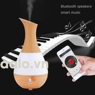 Đèn Phun Sương AJ-219 (Đèn Ngủ 7 Màu + Loa Hát Bluetooth) Công Nghệ Vượt Trội Đến Từ Hàn Quốc+ Tặng Ngay 1 Tinh Dầu - aalo.vn