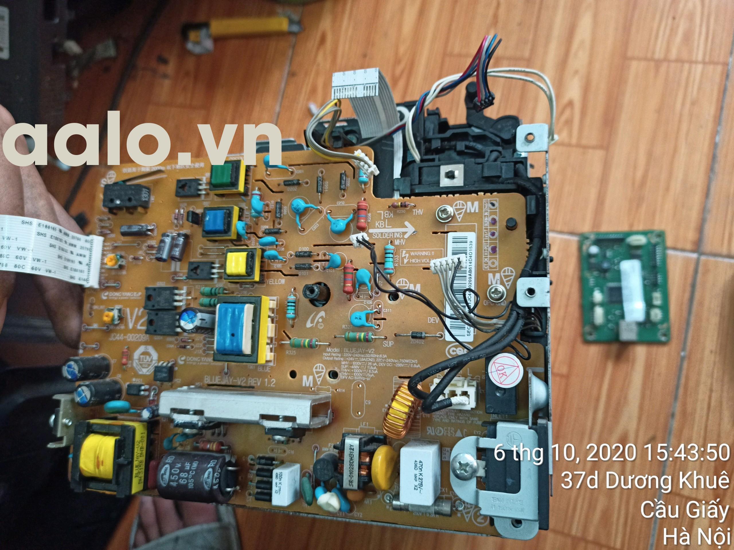 Sửa Máy in Laser Samsung ML-2161 lỗi không lên nguồn-aalo.vn